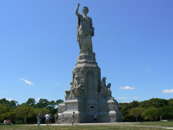 National Monument To The Forefathers In Plymouth