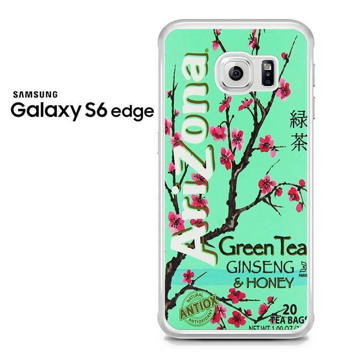 Arizona Green Tea Ginseng And Honey Samsung Galaxy S6 Edge Case