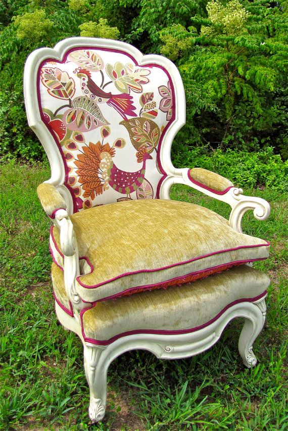 Antique Queen Anne Arm Chair Perfect for Fall   775 00  via Etsy    if89 best Vintage Chairs images on Pinterest   Vintage chairs  . Antique Queen Anne Upholstered Chairs. Home Design Ideas
