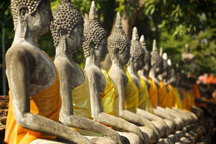 Wat Yai Chai Mongkol, Ayutthaya - Tele - Phra Nakhon Si Ayutthaya UNESCO World Heritage Site, Thailand | 2014