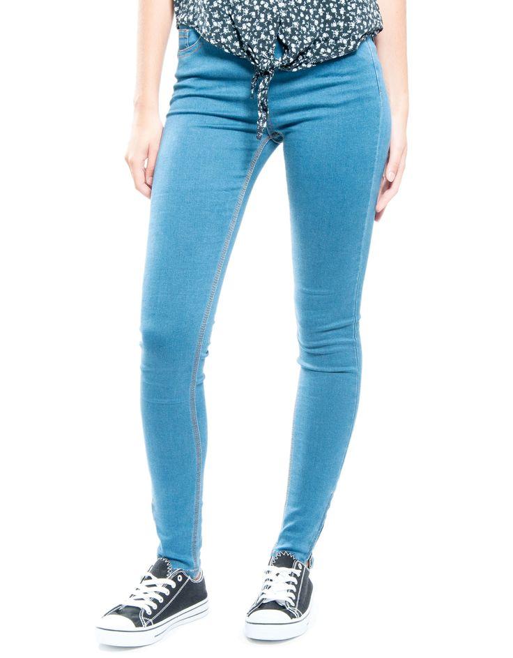 Jeans elastico cremallera bajo Double Agent 29,99€ www.doubleagent.es #fashion #clothes #new #denim