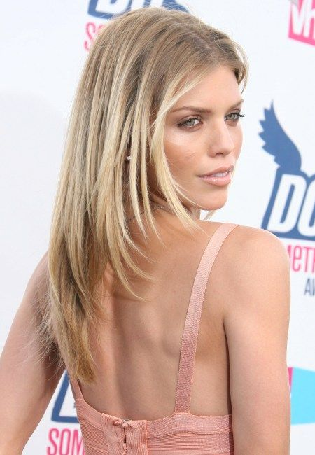 Annalynne Mccord's Blonde Ombre Hair Color - gorgeous!