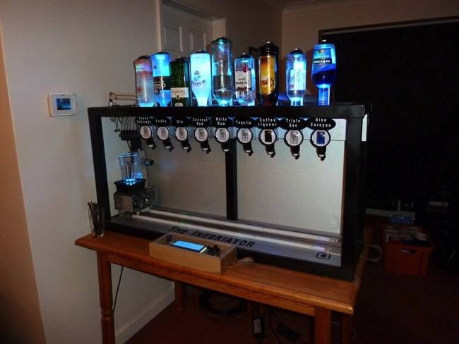 Arduino Powered Cocktail Machine That Makes Any Drink