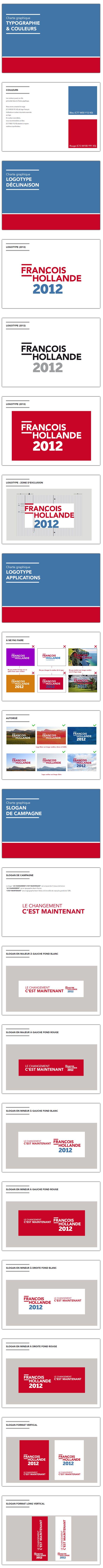hollande2 François Hollande, le candidat du graphisme ?