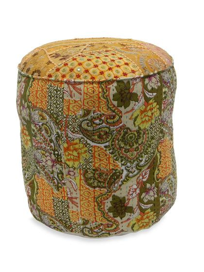 Daisy Pouf by nuLOOM at Gilt