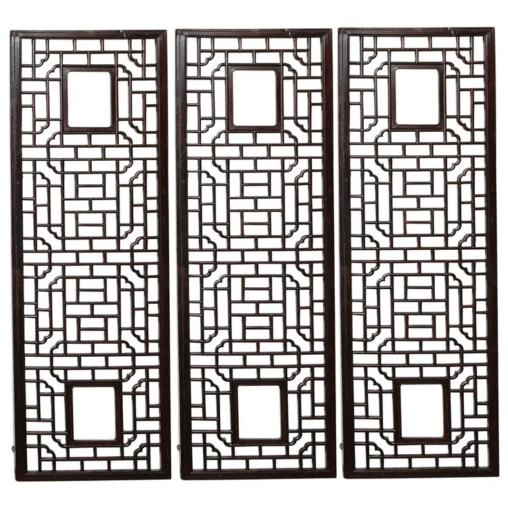 Chinese Lattice Wall Panels In 2019 1stdibs Fan Faves Asian Decor Furniture