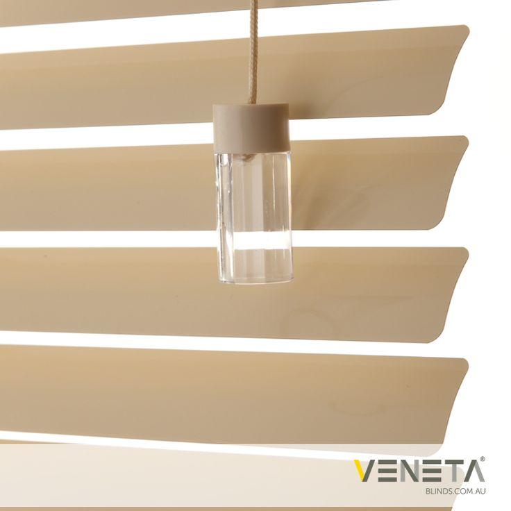 Veneta Blinds : Aluminium Blinds Colour : VANILLA