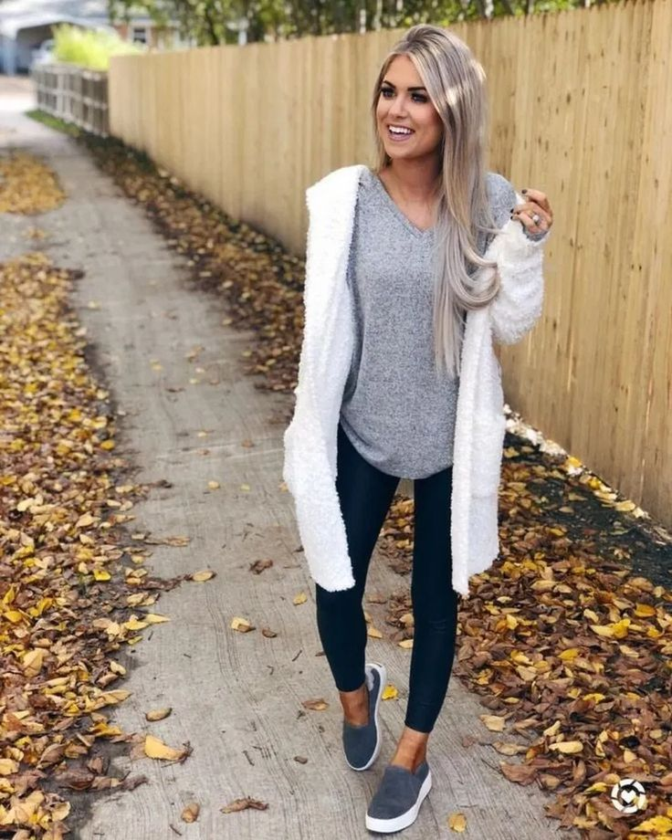 45 Gorgeous Cardigan Outfit Ideas For Fall 2019 | andro.com