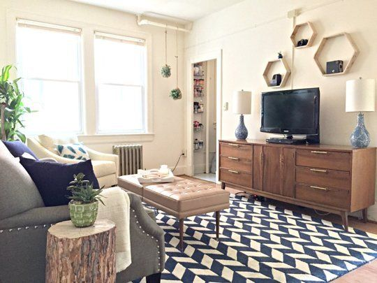 If you've got a small apt, @apttherapy has some great tips for maximizing the space while still keeping it stylish #homedecor