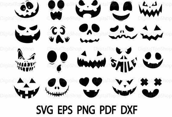 31+ Halloween pumpkin face clipart ideas