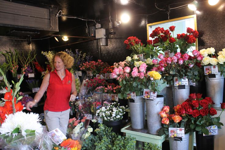 "It's a family affair at Schrade's Posie Peddler! In business since 1910, Gretchen and her staff know what they're doing when it comes to floral arrangements! Stop by and shop for a ""Just Because"" for your special someone #shopsaratoga #ILoveSaratoga http://www.saratoga.org/visitors/shopping"