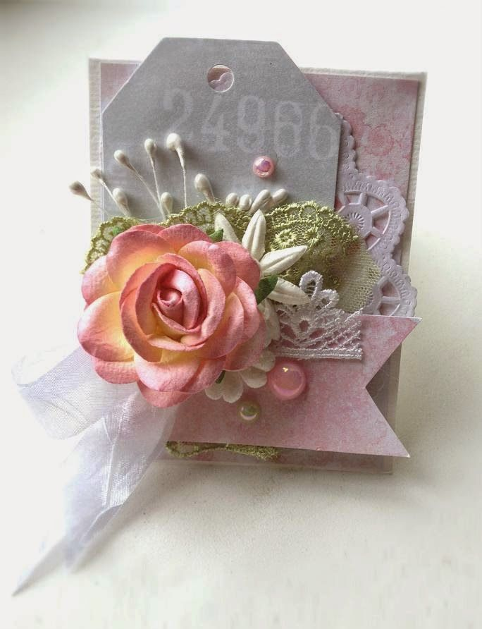 Confetti : mini card