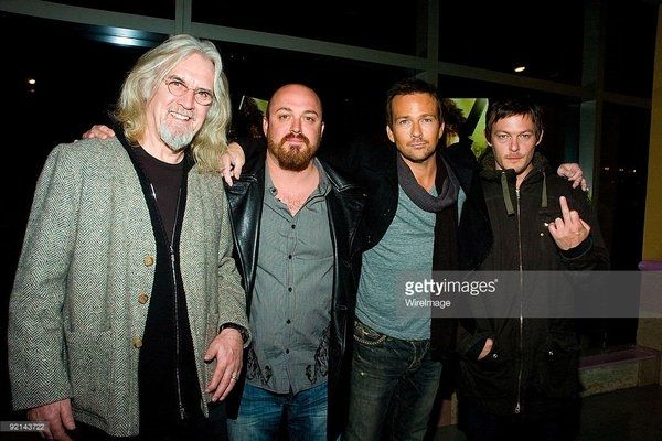 Billy Connolly, Troy Duffy, Sean Patrick Flanery, and Norman Reedus