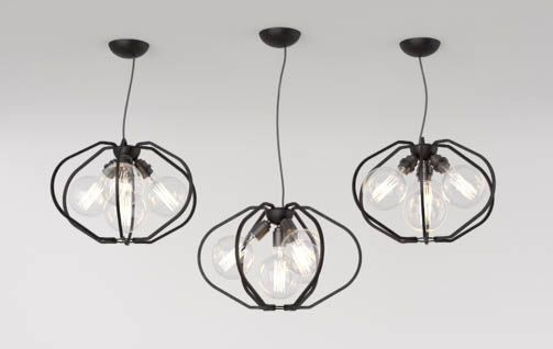 Farrier's Cage - Multi-Bulb Exclusively available from Heal's Queens lighting showroom