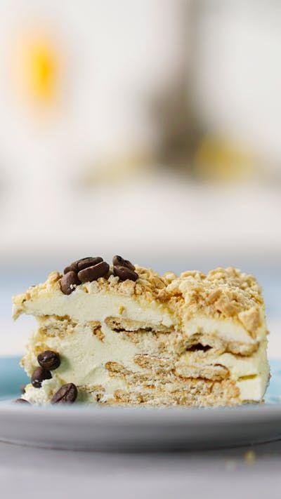 Para os amantes do café, essa torta é incrivelmente fácil e gostosa!