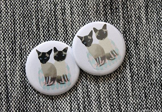 Two cats are better than one pocket mirror  SALE +++++