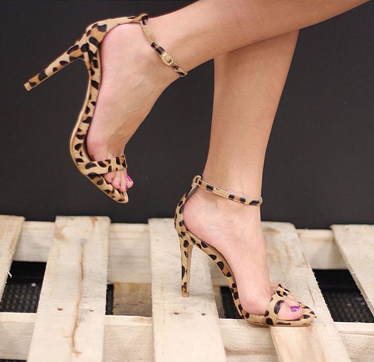 Steve Madden Leopard Print Stecy Heel