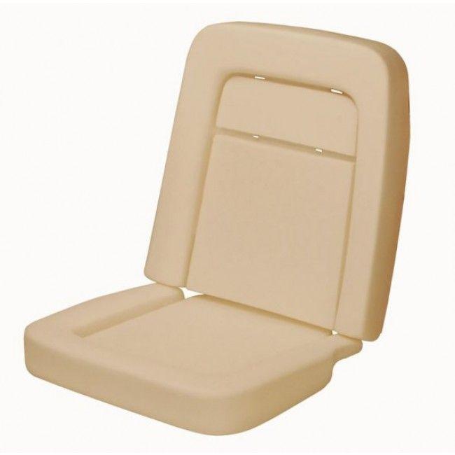 TMI Front Standard Seat Foam, 1968-1969, Each