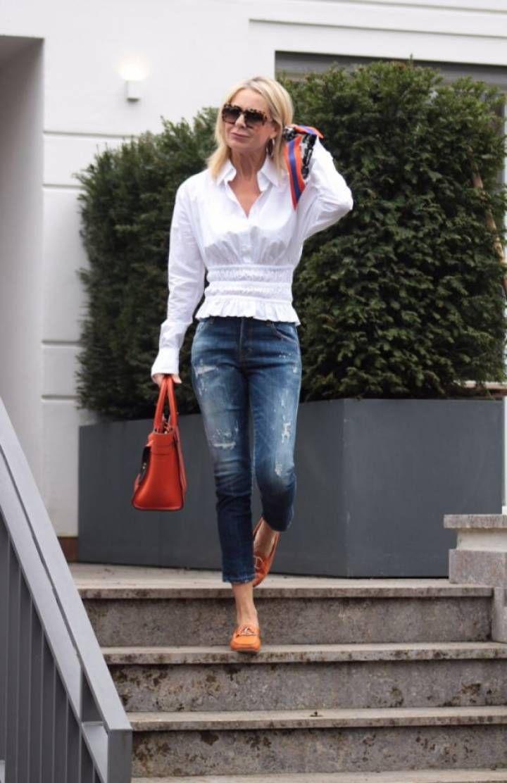 Kleine Frau Ganz Gross Mode Fur Kleine Frauen Frau Outfit