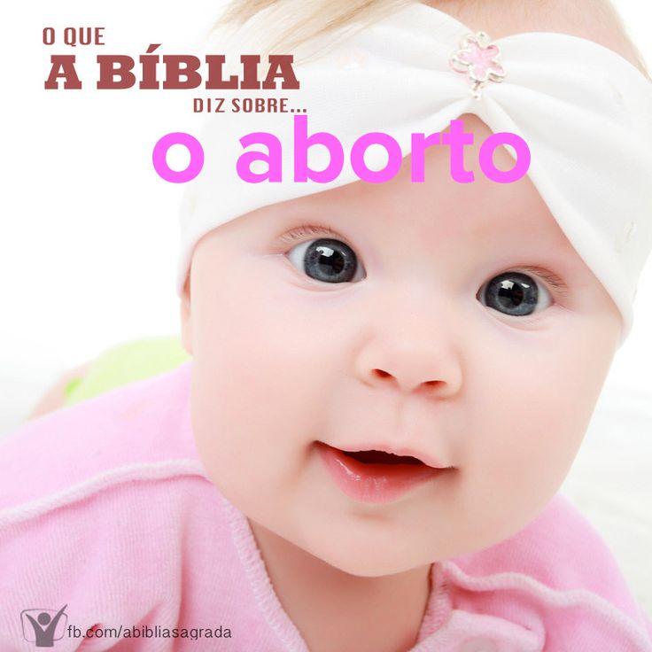 """""""Não existe em todo o mundo, assunto mais controvertido do que a prática do aborto"""". Ao considerarmos essa questão, é preciso questionar o que leva uma jovem a se arrepender de sua gravidez ao ponto de provocar o aborto. http://biblia.com.br/perguntas-biblicas/aborto/o-que-diz-a-biblia-sobre-o-aborto/"""