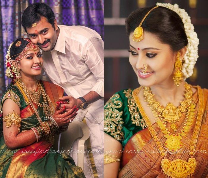 Actress sneha saree jewellery style