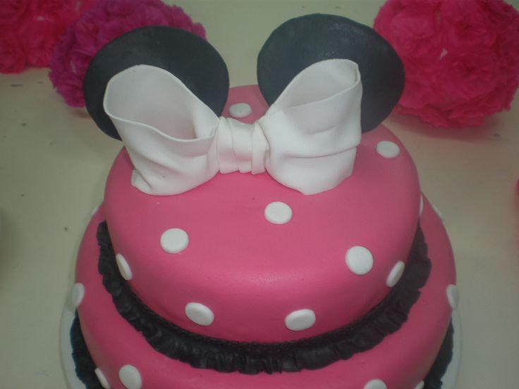 Torta Minni mouse para Abril / Minnie Mouse cake
