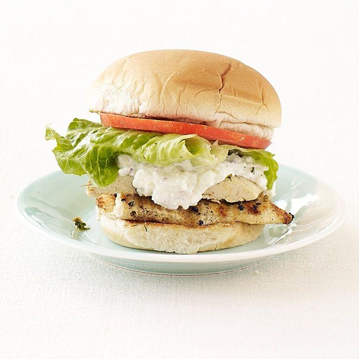Greek-Grilled Chicken Sandwich http://recipes-only.com/greek-grilled-chicken-sandwich/