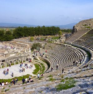 What is your favorite ancient ruin? Here is an article from Travel + Leisure with some of the most visited ruins across the globe.