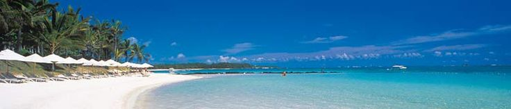 Mauritius - I would love to go there -stunningly beautiful; interesting food and culture