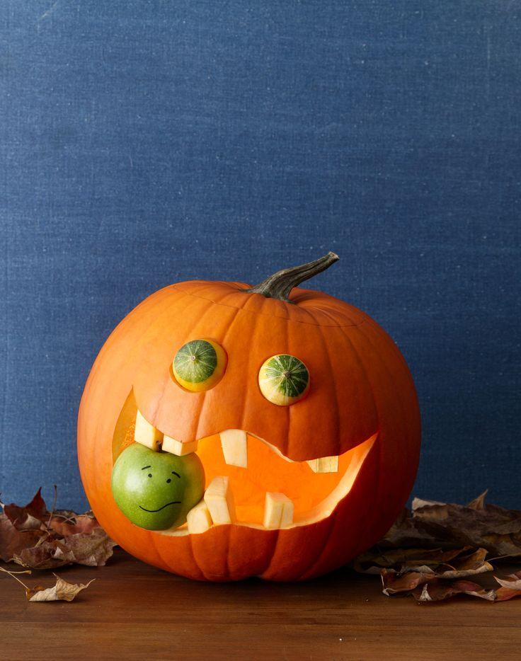 recipe: apple pumpkin carving [32]