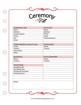 Best 25+ Wedding ceremony checklist ideas on Pinterest | Wedding ...