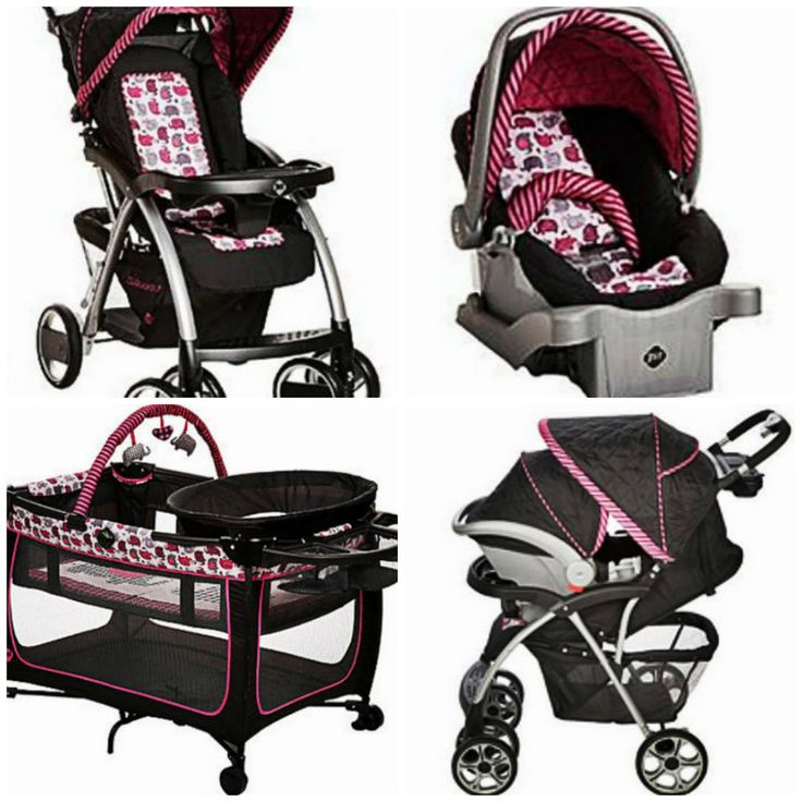 Baby Stroller Set Car Seat Amp Portable Playpen W Travel