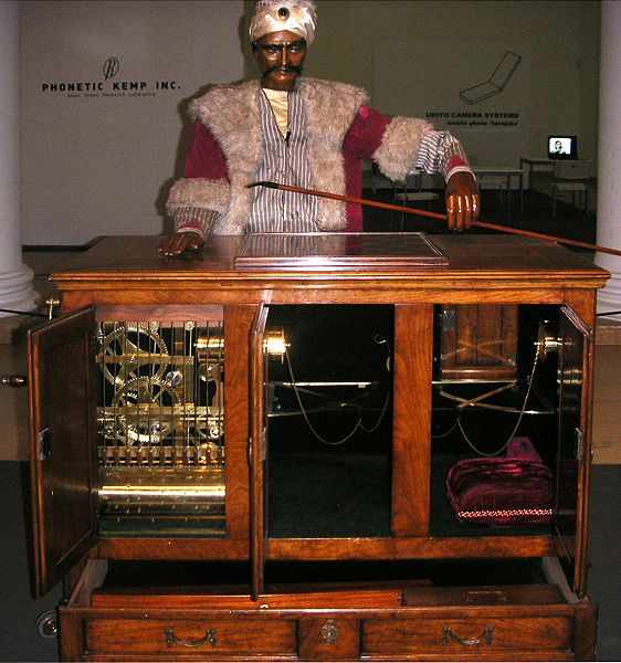 30 Great Moments In The History Of Robots - Forbes     The Jacquard Loom  1801  French silk weaver and inventor Joseph Jacquard invents an automated loom that is controlled by punch-cards. Within a decade it is being mass-produced and thousands are in use across Europe.