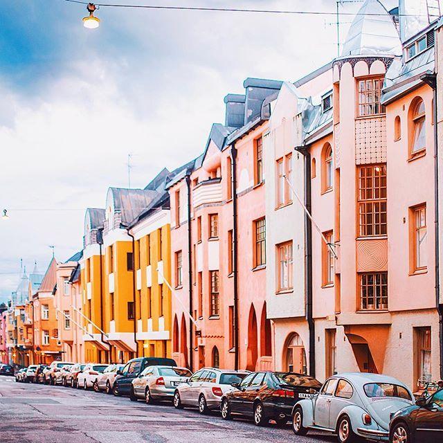 Конфетные домики Хельсинки. Тег нашей поездки #ourfinnishadventure. @OurFinland #VisitFinland #visithelsinki