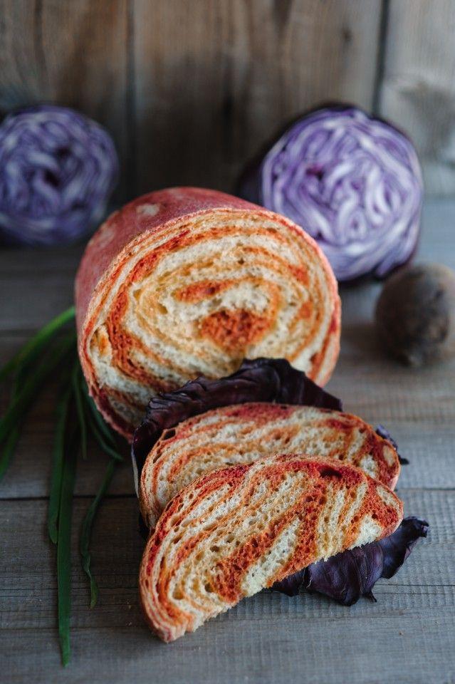 Гипнотический свекольный хлеб » Рецепты » Кулинарный журнал Насти Понедельник. Кулинарные рецепты с фото.