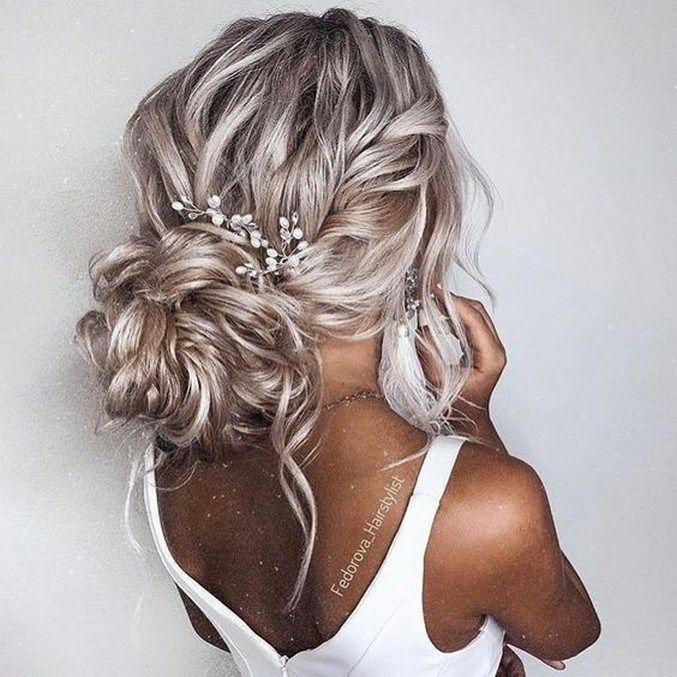 Curly Wedding Hairstyles -  #WeddingHairstyles