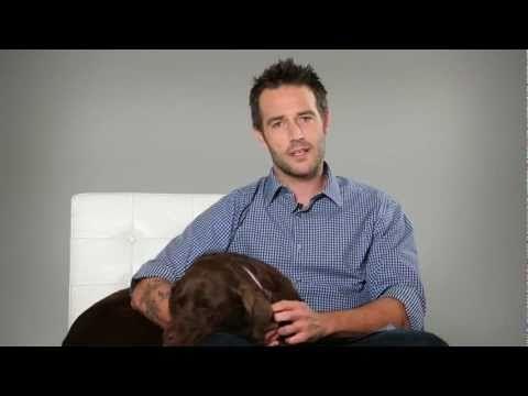 Michael Vartan's Dog Care Tips #celebs #peta #dogs