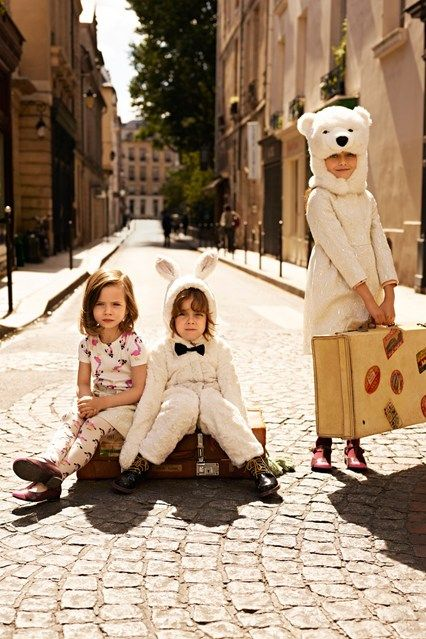 The Green Style Blog - Eco & Fairtrade Fashion Blog (Vogue.com UK): Costumes, Go Girls, Kids Style, Polar Bears, For Kids, H&M, Fashion Blog, Children Collection, Style Blog