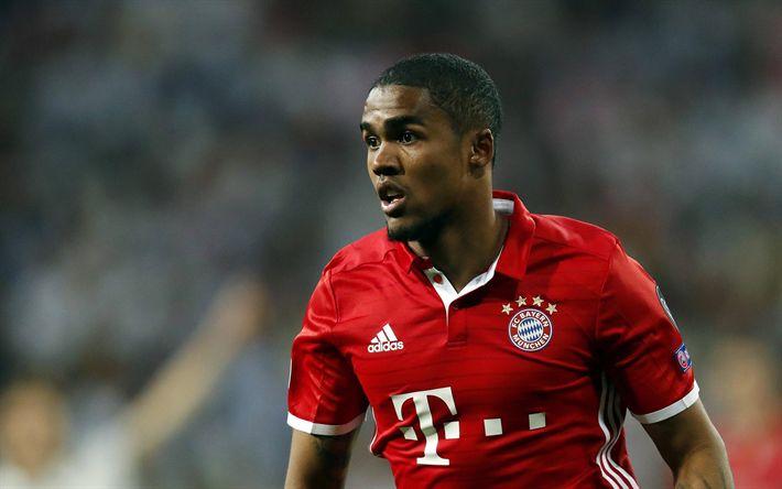 Download imagens Douglas Costa, O Bayern De Munique, retrato, Alemanha, futebol