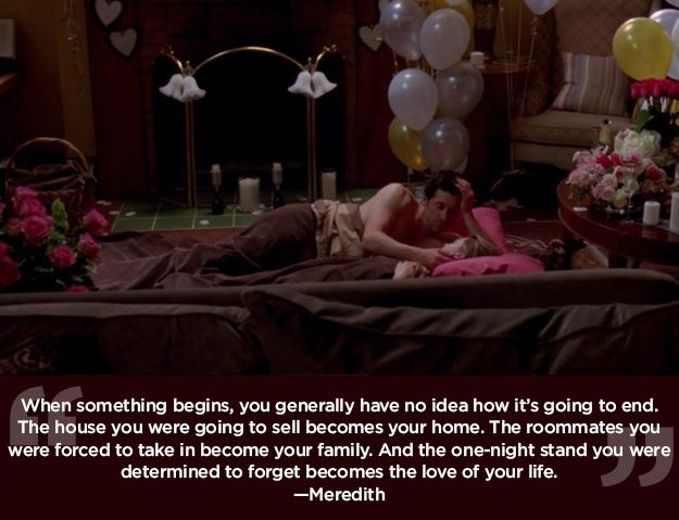 """You never know what lies ahead. 