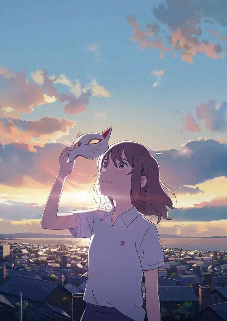 泣きたい私は猫をかぶる 花に亡霊 ヨルシカ 壁紙 夏 背景 風景 2020 夏 背景 壁紙 夏 ヨルシカ