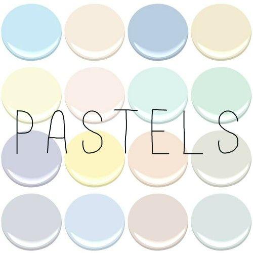 Pastel kitchens color it pinterest green creme Light pastel green paint