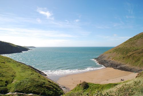 Mwnt Beach, Cardigan Bay, Wales - beautiful