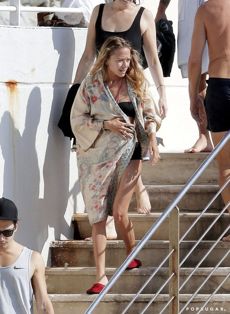 Mary-Kate and Ashley Olsen Look Carefree During Their Bikini-Clad Vacation in France