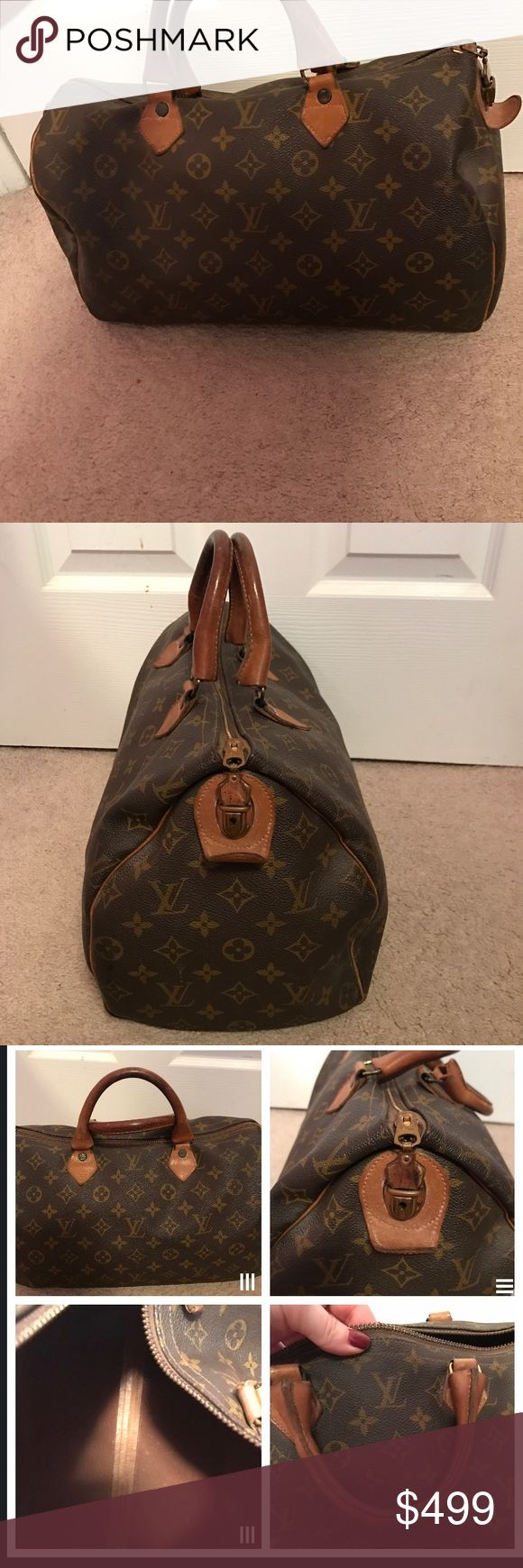 Original model speedy bag First ever Louis Vuitton speedy bag. Gently used condition. Louis Vuitton Bags