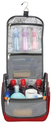 Amazon.com: Ricardo Beverly Hills Luggage Essentials Travel Organizer, Ribbon Red, One Size: Clothing