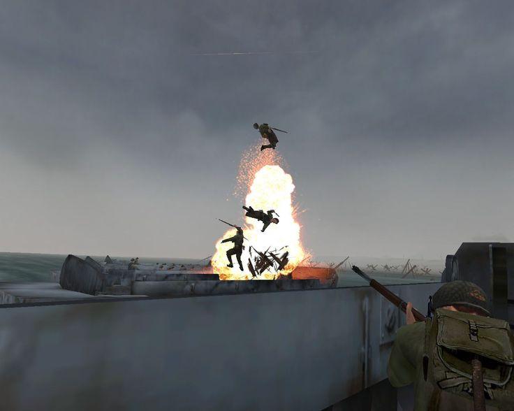 MOH Allied Assault PC Game Screenshots