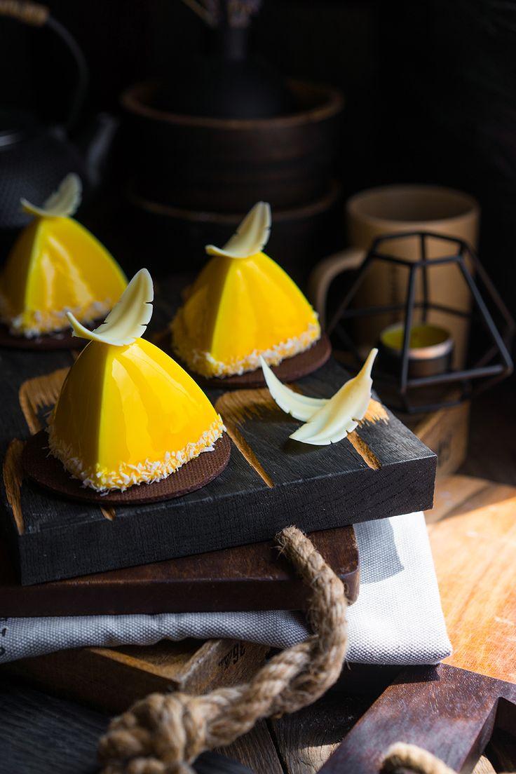 Современные десерты: муссовое пирожное РИО — новый тропический секрет