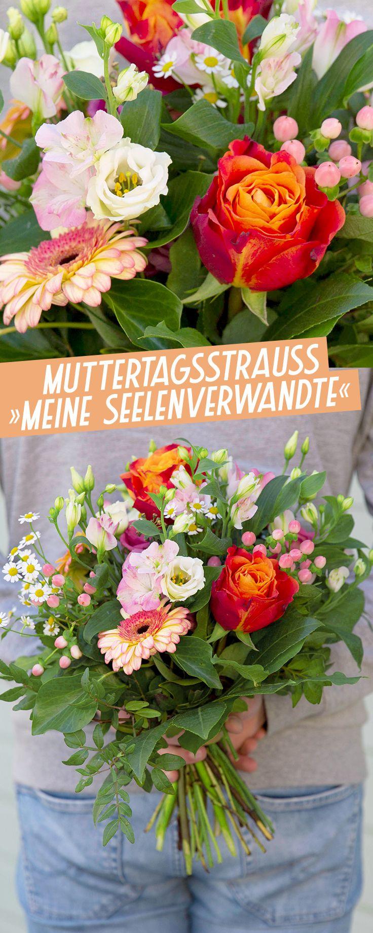 Muttertagsstrauss Meine Seelenverwandte Muttertag Mein Seelenverwandter Geburtstag Blumen