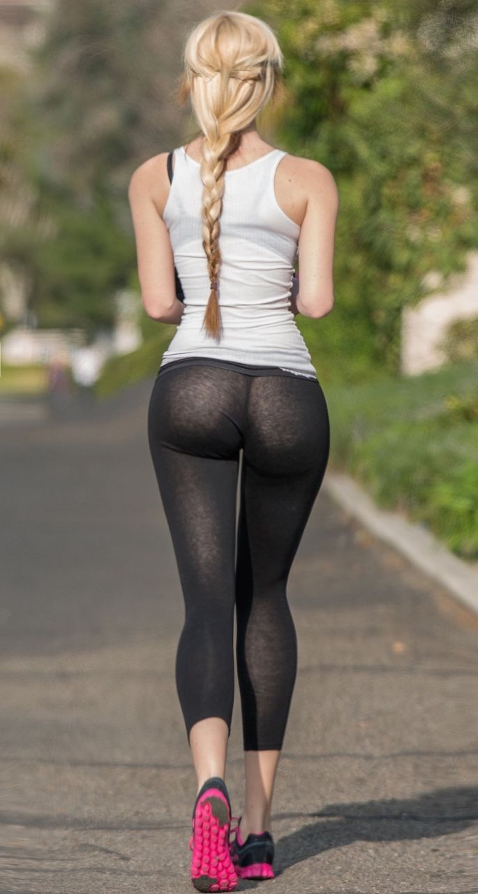 Thats garden hot ass in yoga pants